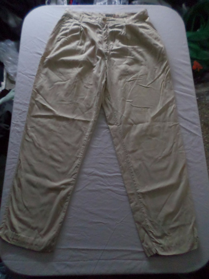 Pantalon Guess De Gabardina Talle 34 / 44