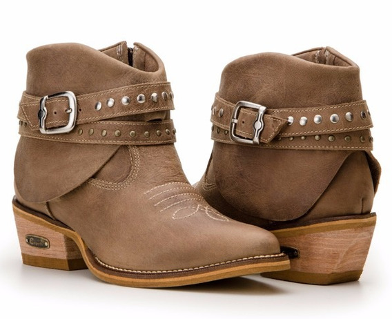 Bota Country Feminina Texana Montaria Capelli Boots