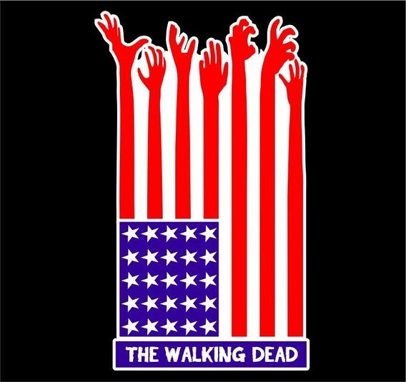 Camiseta The Walking Dead, Filmes Seriados. Revolution Style
