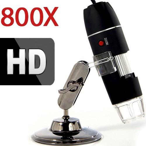Microscópio Digital Usb 800x Grava Em Hd - Envio Imediato