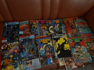 Hq Marvel Dc Conan Batman Cyber Force X-men Lote 28 Revistas