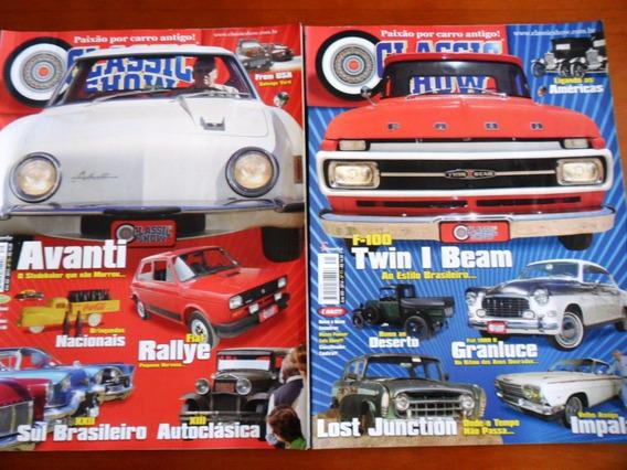 2 Revistas (carros) Classic Show - Nº 70 E 71 (frete Grátis)