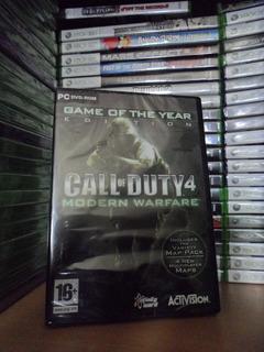 Call Of Duty 4 Modern Warfare - Nuevo Y Sellado - Pc
