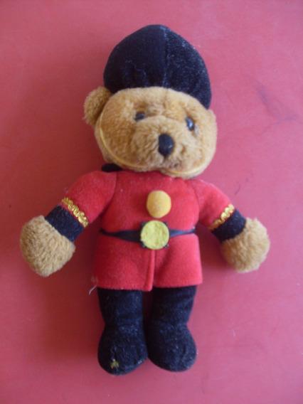 Ursinho De Pelucia Soldado Ingles - 30 Cm