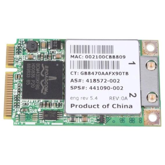 Placa Wifi Hp Compaq Dv6000 Dv9000 F700 2510p 441090-001