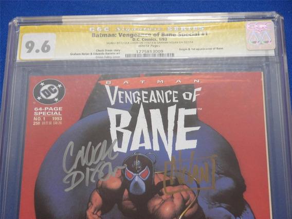 Batman Vengeance Of Bane Special #1 Autografada.