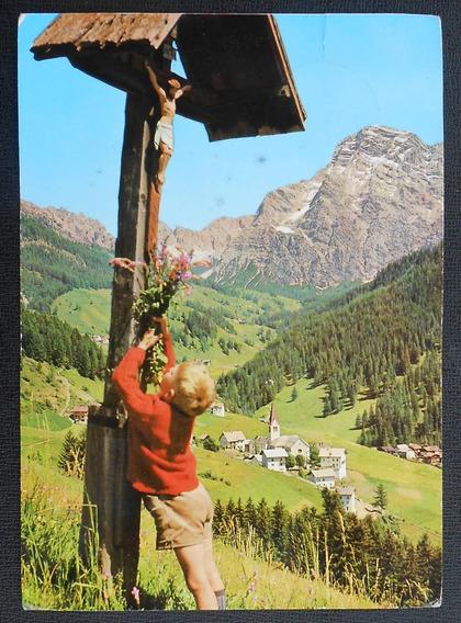 Postal Alpes Suizos Wengen Circulada Desde Italia 1974