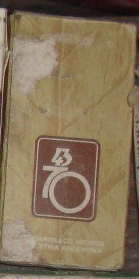 Cajita De 43 70 - 5 Cigarrillos En Buen Estado