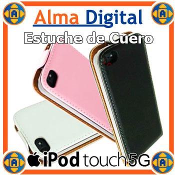 Estuche Cuero iPhone 5 5s iPod Touch 5g Forro Protector