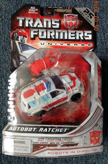 Autobot Ratchet Transformers Universe Hasbro Deluxe 2004