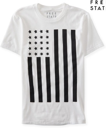 Camisa Aeropostale Free State Flag - Original