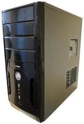 Cpu Semi Nova Dual Core 1gb Hd80 Gabinente Novo #promoção