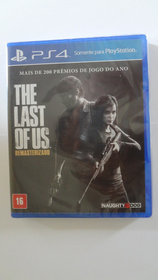 The Last Of Us Remastered Português Para Ps4 Novo E Lacrado