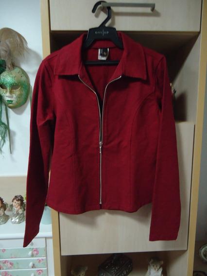 Casaco-jaqueta Em Malha Vinho - Branner