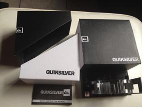 Vende - Se Caixa + Manual Do Relogio Original Quiksilver