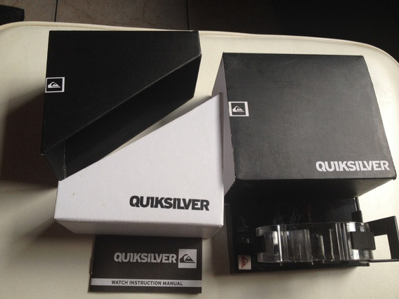 Vende - Se Caixa + Manual Do Relogio Original Quiksilver
