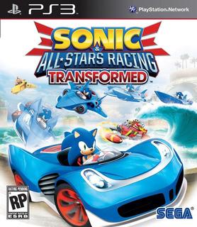 Sonic & All-stars Racing Transformed Ps3 Digital Gcp