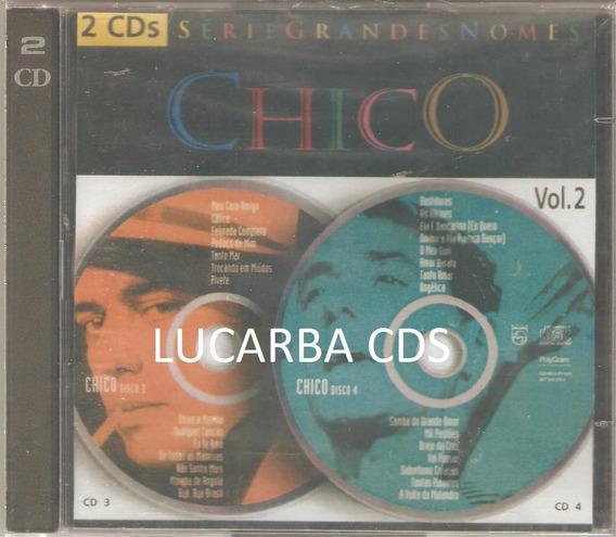 Cd - Chico Buarque - Serie Grandes Nomes - Vol 2 - Duplo