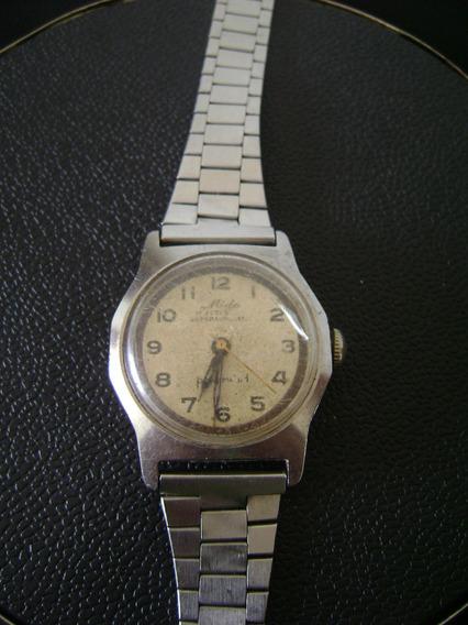 Antigo Relógio De Pulso Feminino Mido Multifort