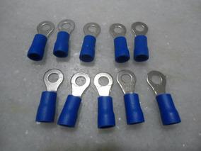 10 Terminais Pre Isolado Tipo Anel 1,5a2,5mm