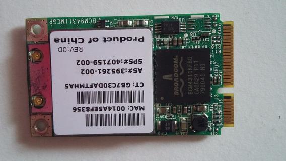 Placa De Rede Wireless Notebook Hp Pavilion Dv6120