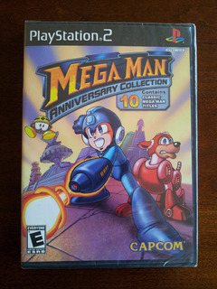 Megaman Anniversary Collection Sellado / Ps2 // Wario Store