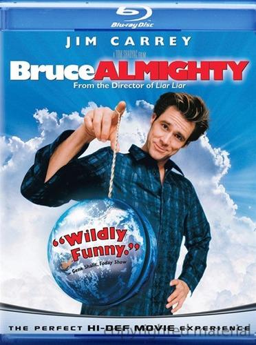 Imagen 1 de 3 de Blu-ray Bruce Almighty / Todopoderoso