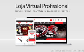 Loja Virtual Profissional Completa Responsiva E-commerce