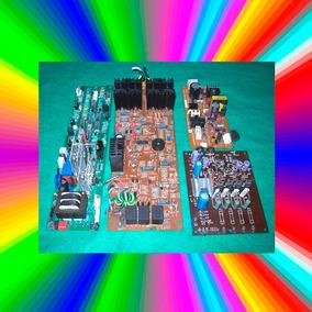 Placas Relé Dissipador Capacitor Integrado Transistor Etc.