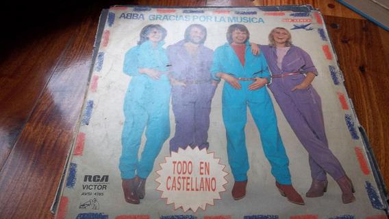 Lon Play Disco Vinilo Abba Gracias Por La Musica Lp