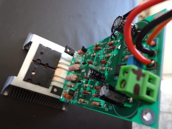 Placa Amplificador 150w Montada /serve Gradiente-166/246