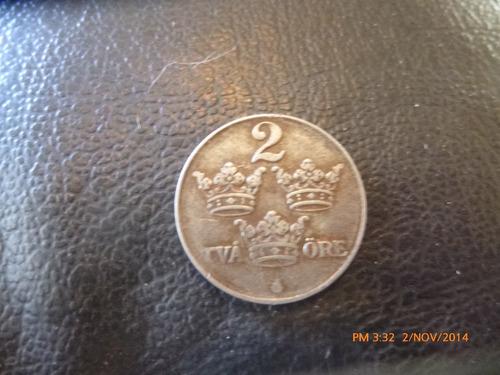 Moneda Suecia 2 Ore 1942 (250z