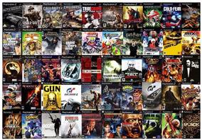 Lote Kit 10 Jogos Playstation 2 , A Sua Escolha