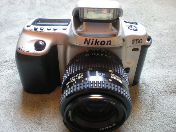 Câmera Nikon F50 Semi-profissional