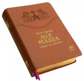 Bíblia Sagrada Ave Maria Edição De Estudos Escritura