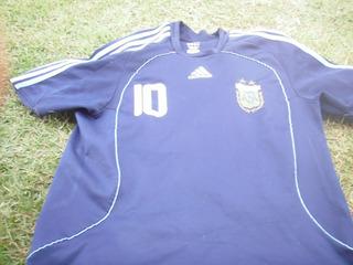 Camisa Do Argentina Messi Uniforme 2