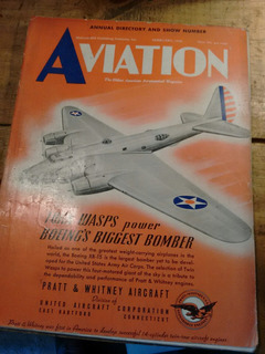 Antigüedades Aviación De Los Años 40 Segunda Guerra Mundial