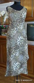 Vestido Espectacular Animal Print Ts