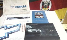 Manual Gm Chevrolet Corsa 1998 Original Hatch