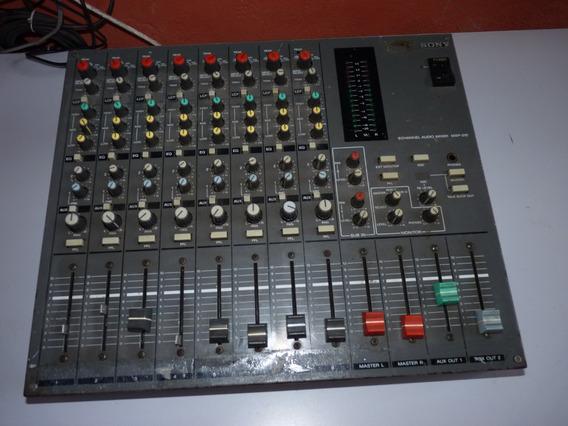Mixer De Áudio Analógico Broadcast 8 Canais Sony Mxp 210