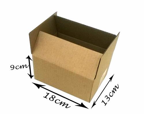 50 Caixas Papelão Loja De Fabrica  Frete Gratis 18x13x09
