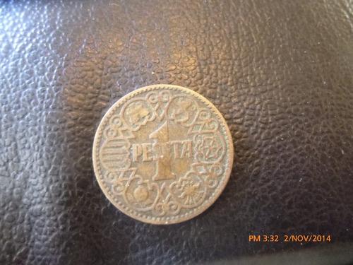 Moneda España 1 Peseta 1944 (z261