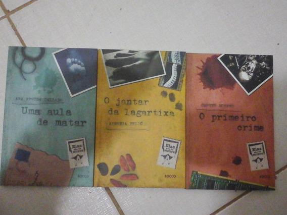 3 Livros Romance Policial O Primeiro Crime Aula De Matar