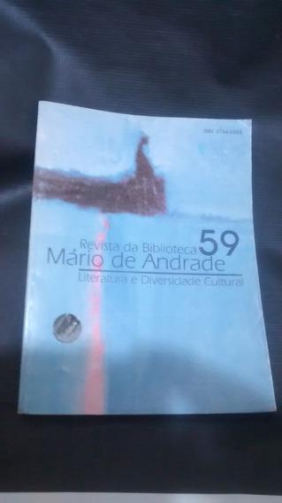Revista Da Biblioteca Mário De Andrade 59 - Literatura E Div