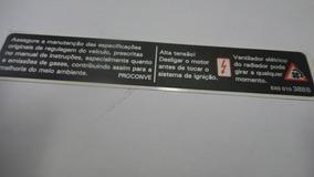 Adesivo Identificação Ignição Motor Gol Fox Polo Golf Vw