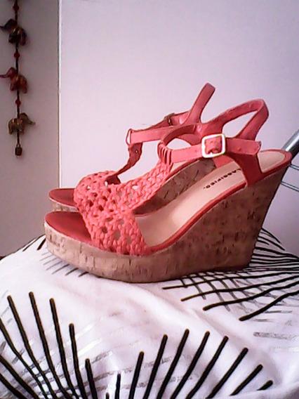 Zapatos Importados Corcho Material Original !!