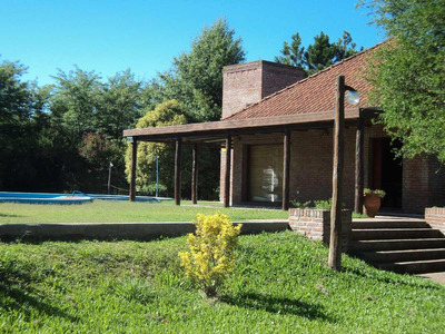 Casa Quinta Vista Al Río C/pileta-parrilla-parque 4500 M2