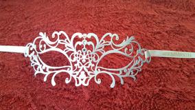 Mascara Metal Branco Original Veneza Swarosvki