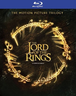 Trilogía De The Lords Of The Ring Bluray