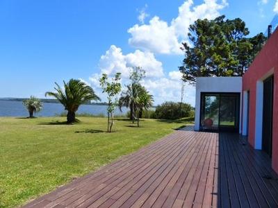 Hermosa Chacra Con Playa Privada A La Laguna Del Sauce P Del